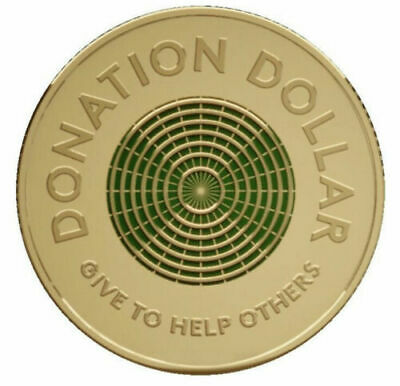 AU3.99 • Buy 2020 Donation Dollar $1 Coin UNCIRCULATED - From Mint Bag