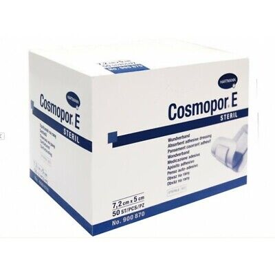 £8.99 • Buy Cosmopor E Sterile First Aid Absorbent Adhesive Wound Dressing (Size Selection)
