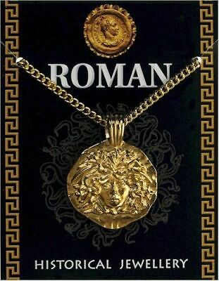£9.75 • Buy Roman Gold Plated Medusa Pendant On A Chain New In Sealed Packaging UK Made