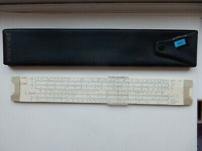 Thornton PIC No 271 Slide Rule And Clip Down Case • 2.99£