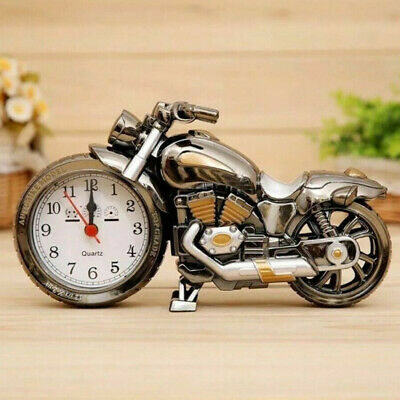 Motorcycle Motorbike Alarm Clock Creative Home Birthday Gift Cool Clock 1x • 7.91£