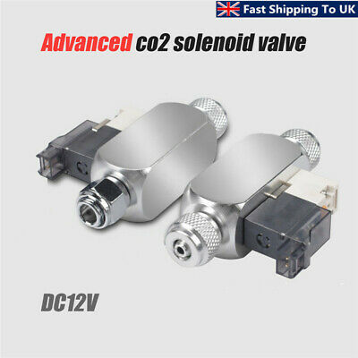 CO2 Aquarium Magnetic Solenoid Valve Low Temp Regulator Cylinder Pressure  UK! • 16.85£