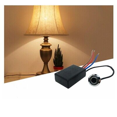 220V Incandescent LD-600S Touch Light Lamp Pressure Dimmer Switch Control Sensor • 5.99£