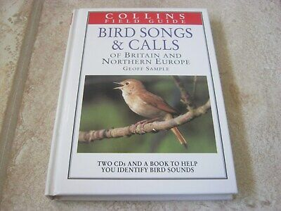 COLLINS FIELD GUIDE, BIRD SONGS AND CALLS, HARDBACK BOOK AND 2 CD's • 6.95£