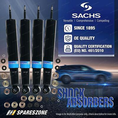 AU391.08 • Buy Front + Rear Sachs Shock Absorbers For Suzuki Sierra SJ80 Hardtop Soft-top 96-98