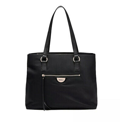 AU114 • Buy Mimco Vista Backpack Black Rose Gold• New With Tag