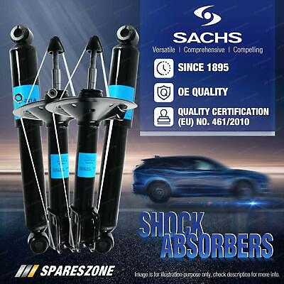 AU635.95 • Buy Front + Rear Sachs Shock Absorbers For Ford Transit VM 2.4 Van Bus Cab RWD