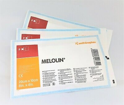 £5.45 • Buy MELOLIN WOUND DRESSINGS   20CM X 10cm   PACK OF 10   FAST FREE DELIVERY