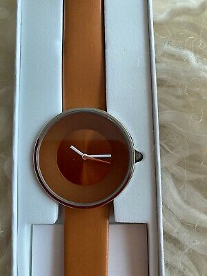 Lambretta Watch, Cielo 34 Tan Quartz Analog Stainless Steel With Leather Strap • 19.99£