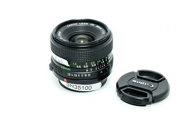 Used Canon F 28MM F2.8 C/FD Wide Angle Lens For Film Cameras (SH35100) • 65.99£