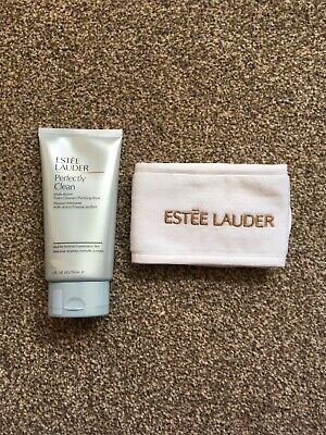 Estee Lauder Perfectly Clean Foam Cleanser / Purifying 150ml & Headband - NEW • 23.95£