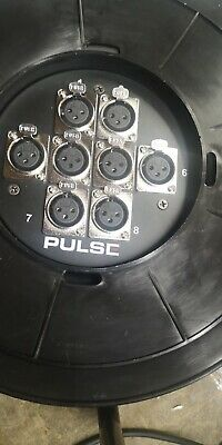 Pulse 8 Way Multicore Cable Reel • 55£