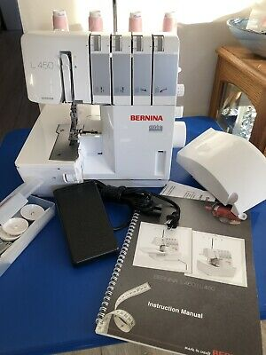 $895 • Buy Bernina L450 Serger,  Excellent Condition, Used Only A Few Times