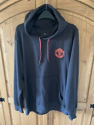 Manchester United Adidas Hoodie Size Large • 15£