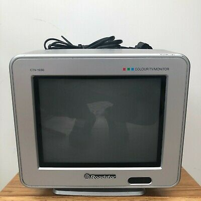 Roadstar Colour TV Monitor CTV-1030 Small 10  Lorry TV Vintage Gaming TV  • 59.99£