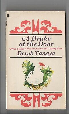 Book - A Drake At The Door By Derek Tangye Paperback • 2.50£