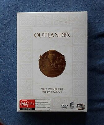 AU30 • Buy OUTLANDER Complete First Season DVD 2015 AUS (Region 2,4,5) Box Set NEW & SEALED