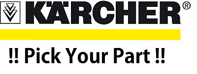 £14.99 • Buy Karcher Pressure Washer Accessories: Lance, Gun, Base, Brushes, Cables Ect