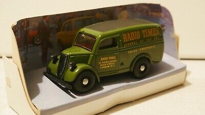 Matchbox Dinky Collection DY-4 1950 Ford E83W 10 CWT Radio Times Van VGC Boxed • 7.50£