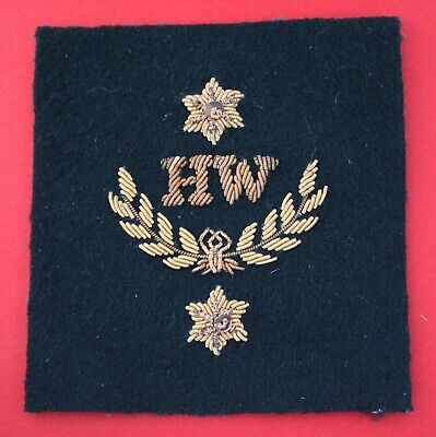 £7 • Buy The Royal Marines 2nd Class Heavy Weapons Lovat Bullion SQ Qualification Badge