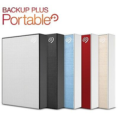 AU215 • Buy Seagate 4TB 5TB Backup Plus 2.5  External Hard Drive HDD Portable USB 3.0 Blue