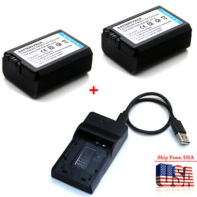 $ CDN18 • Buy Battery / Charger For Sony Alpha A3000 A5000 A5100 A6000 A6300 A6400 A6500 A7 II