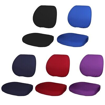 AU18.99 • Buy  Office Computer Chair Backrest Stretchable Rotating Desk Chair Covers Slipcover
