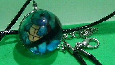Pokemon Marble Charm Necklace Squirtle The Turtle NEW • 3.57£
