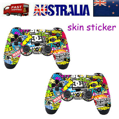 AU8.29 • Buy 2X PS4 Controller Decal Sticker Skin Vinyl For Console Playstation 4 Controller