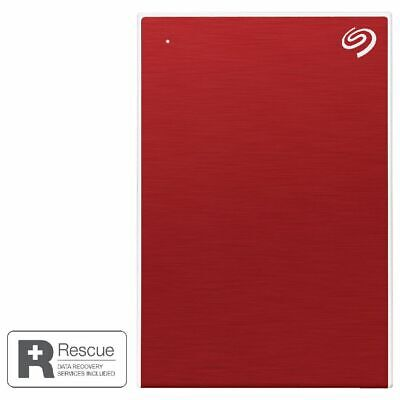 AU149 • Buy Seagate One Touch Portable Hard Drive 4TB Red