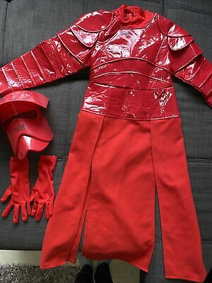 £15.50 • Buy Disney Star Wars Royal Guard Costume 7-8 Mask, Gloves And Robes Great Condition