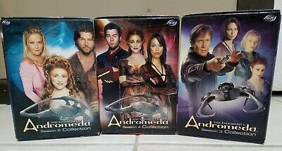 Andromeda Complete All 3/4/5 Seasons DVD Collection International Shipping • 39.80£