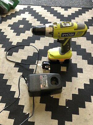 Ryobi 18v Cdc1802 Drill + A Battery And Charger . ( Fully Working Order ) • 50£