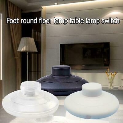 Foot Switch For Lamp Or Light - Floor Switch For Lamp In Black/White C9S2 • 2.31£