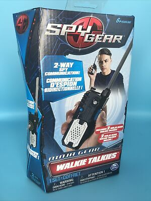 Spin Master Spy Gear 2 Ninja Gear Walkie Talkies 2-Way Spy Communication • 5.56£