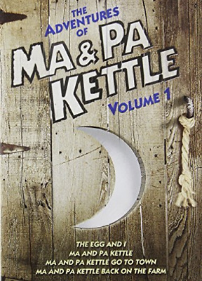$14.16 • Buy MAIN,MARJORIE-Adventures Of Ma And Pa Kettle - Volume 1 DVD NEW