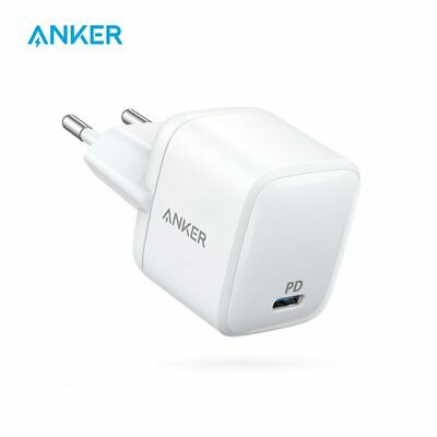 AU52.95 • Buy Anker 30W Ultra Compact Type-C Wall Charger With Power Delivery,PowerPort Atom