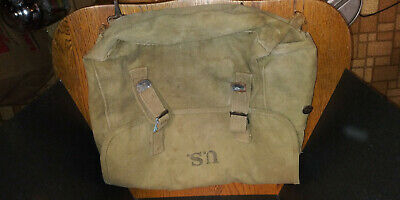 $65 • Buy M1936 M36 Haversack Backpack ATLANTIC PRODUCTS CO 1942 Bag WWII