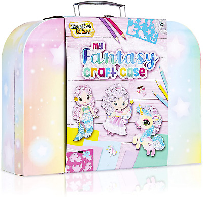 KreativeKraft Art Sets For Girls With Unicorn Stickers, Arts And Crafts For Box • 16.69£