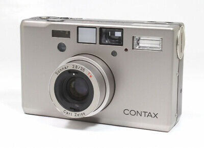 $ CDN2124.25 • Buy Contax T3 Point & Shoot Film Camera - Silver With Data Back **Selling As-Is**