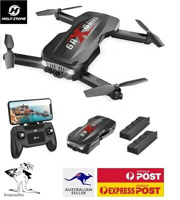 AU79.96 • Buy Holy Stone HS160 Pro Foldable FPV 1080p HD Camera RC Drone WiFi Quadcopter