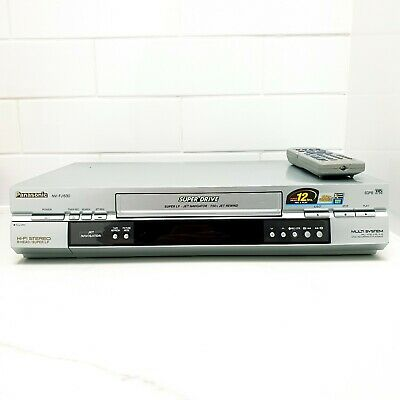 AU149.95 • Buy Panasonic NV-FJ630 Stereo Video Recorder Player REMOTE VCR With Remote