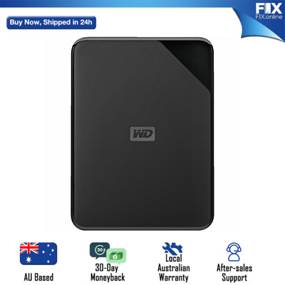 AU74.99 • Buy WD Elements SE 1TB USB 3.0 Portable Hard Drive Western Digital External AU