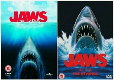 JAWS Anthology Series 1-4 Complete Collection Part 1 2 3 4 Revenge New UK R2 DVD • 19.95£