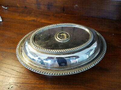 £5 • Buy Antique EPNS Entree Serving Dish By Thomas White Sheffield - Sold As Seen