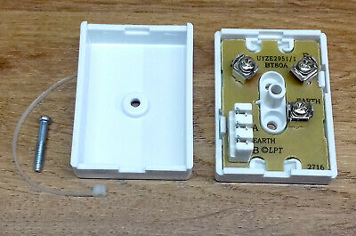 BT 80A IDC Internal Telephone Cable Junction Connection Box BT80A • 2.99£