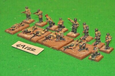 28mm WW2 / British - Paratroopers 16 Figs - Inf (49122) • 44£