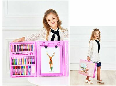 £16.49 • Buy Kids Art Sets - Children Gift Box Drawing Painting Colouring Sketching Case