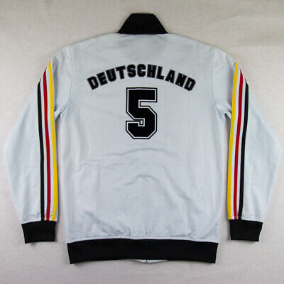 /// Adidas Deutschland Germany S Jacket Track Top TT Tracksuit Rare Retro Anthem • 88£