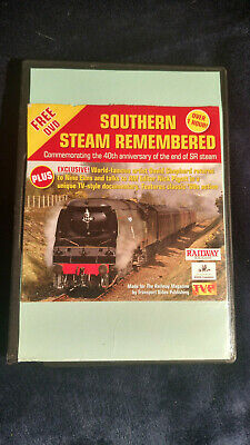 £10 • Buy Southern Steam Remembered DVD Trains Locomotives Railway Magazine